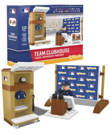 Team Clubhouse All 30 MLB Ball Clubs Building Block Set