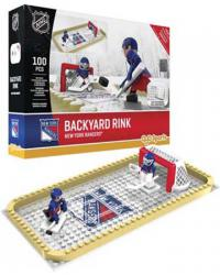 Backyard Rink New York Rangers