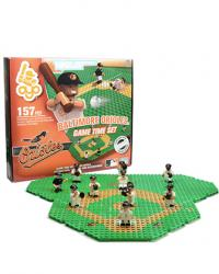 Gametime Set Baltimore Orioles Building Block Set