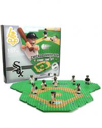 Gametime Set Chicago White Sox Building Block Set