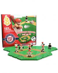Gametime Set Washington Nationals Building Block Set