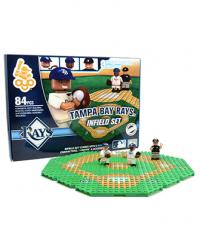Infield Set Tampa Bay Rays Building Block Set