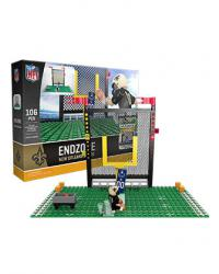 Endzone Set New Orleans Saints Building Block Set