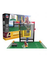 Endzone Set Washington Redskins Building Block Set