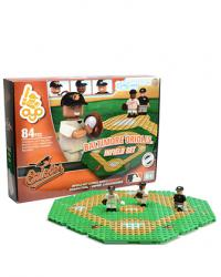 Infield Set Baltimore Orioles 84pc Building Block Set