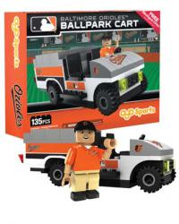 Ballpark Cart Baltimore Orioles Building Block Set