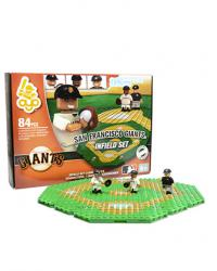 Infield Set San Francisco Giants 84pc Building Block Set