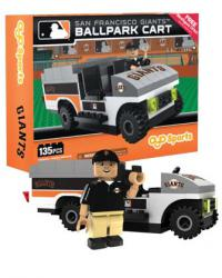Ballpark Cart San Francisco Giants Building Block Set