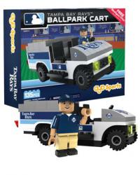 Ballpark Cart Tampa Bay Rays Building Block Set