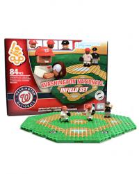 Infield Set Washington Nationals 84pc Building Block Set