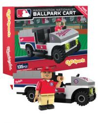 Ballpark Cart Washington Nationals Building Block Set