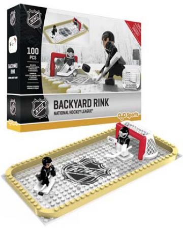 Backyard Rink National Hockey League 100pc Building Block Set