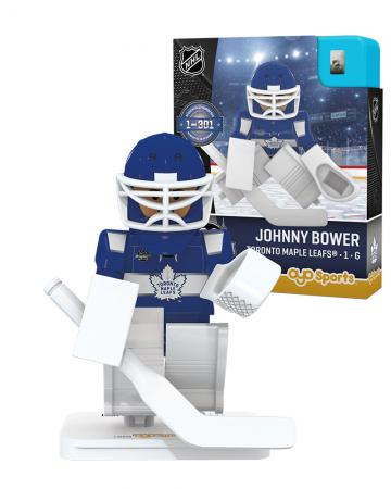#1 Johnny Bower Toronto Maple Leafs Limited Numbered Edition