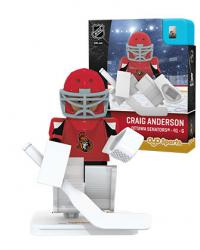 #41 Craig Anderson Ottawa Senators Home Version