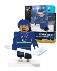 #33 Henrik Sedin Vancouver Canucks Home Version