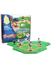Gametime Set Atlanta Braves Building Block Set