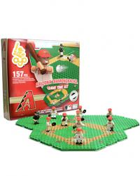 Gametime Set Arizona Diamondbacks Building Block Set