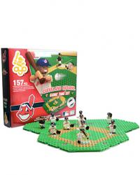 Gametime Set Cleveland Indians Building Block Set
