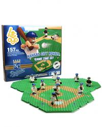 Gametime Set Kansas City Royals Building Block Set