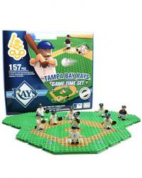 Gametime Set Tampa Bay Rays Building Block Set