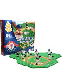 Gametime Set Texas Rangers Building Block Set
