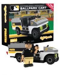 Ballpark Cart Pittsburgh Pirates Building Block Set