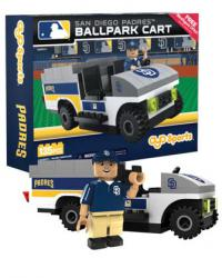 Ballpark Cart San Diego Padres Building Block Set
