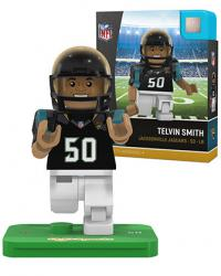 #50 Telvin Smith Jacksonville Jaguars Home Version