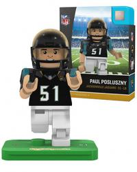 #51 Paul Posluszny Jacksonville Jaguars Home Version