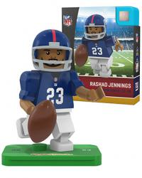 #23 Rashad Jennings New York Giants Home Version