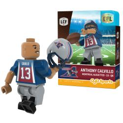 #13 Anthony Calvillo Montreal Alouettes Home Version