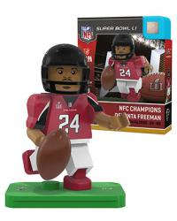 #24 Devonta Freeman NFC Champions Version Atlanta Falcons