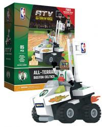 ATV with Super Fan Boston Celtics 85pc Building Block Set