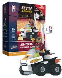 ATV with Super Fan Cleveland Cavaliers 85pc Building Block Set