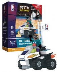 ATV with Super Fan Charlotte Hornets 85pc Building Block Set