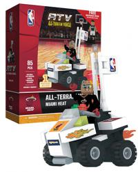 ATV with Super Fan Miami Heat 85pc Building Block Set