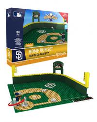 Home Run Set San Diego Padres 84pc Building Block Set