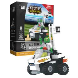 ATV with Mascot Chicago White Sox 85pc Building Block Set