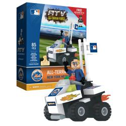ATV with Mascot  New York Mets 85pc Building Block Set