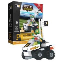 ATV with Mascot  Pittsburgh Pirates 85pc Building Block Set