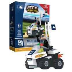 ATV with Super Fan  San Diego Padres 85pc Building Block Set