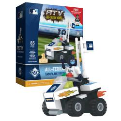 ATV with Mascot Tampa Bay Rays 85pc Building Block Set