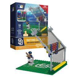 Batting Cage Set San Diego Padres 59pc Building Block Set