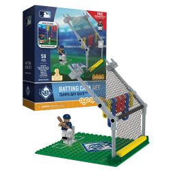 Batting Cage Set Tampa Bay Rays 59pc Building Block Set