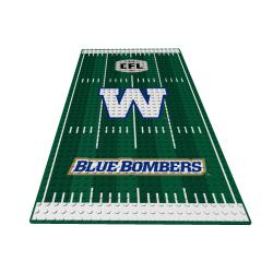 Official Team Display Plate Winnipeg Blue Bombers