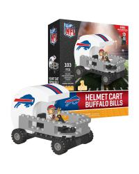 Helmet Cart  Buffalo Bills 106pc Building Block Set